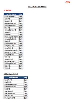 Den Networks Digital Tv Channel Packages