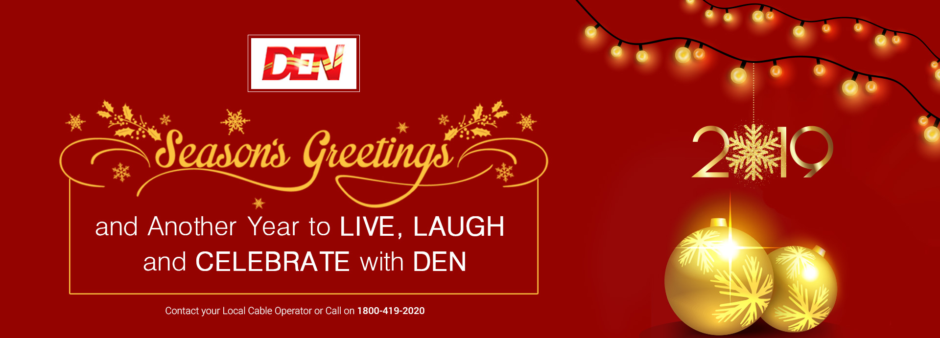 DEN - Cable network in India